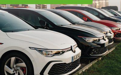 Lagerwagen-Offensive Golf GTI